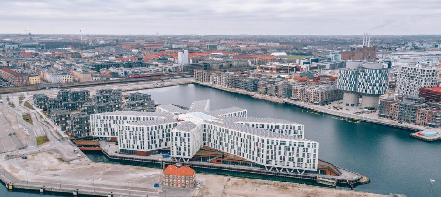 UN city complex in Copenhagen