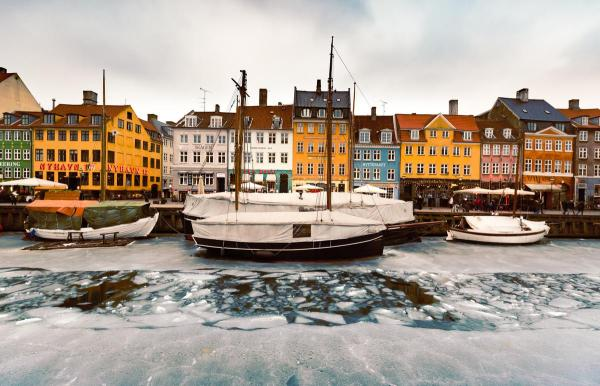 Nyhavn in winter time