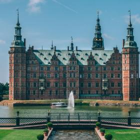 Frederiksborg Castle in North Sealand