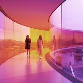 Your rainbow panorama by Olafur Eliasson, 2006 - 2011, ARoS Aarhus Art Museum