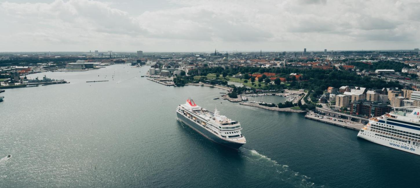 Cruise Ship in Copenhagen