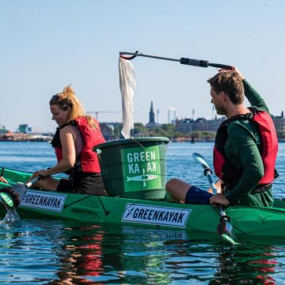 Green kayak sustainable copenhagen waters