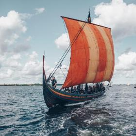 Viking ship from Roskilde